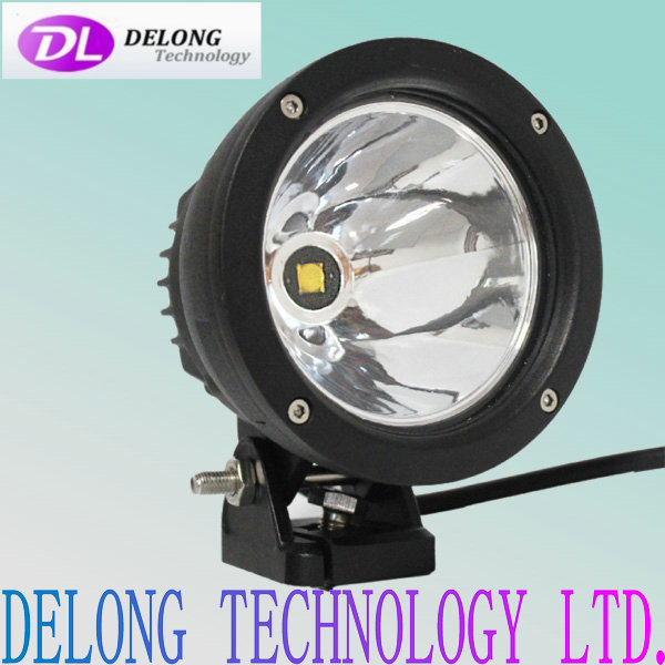 1200lm 25w car led spot light 12v for truck,SUV,Jeep,offroad