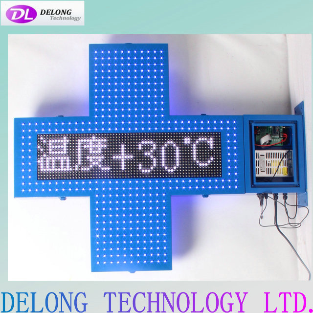 102X80X10cm wifi led pharmacy sign