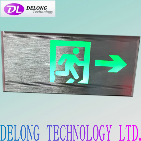35X16X2cm emergency led direction warning sign/led emergency exit sign running man