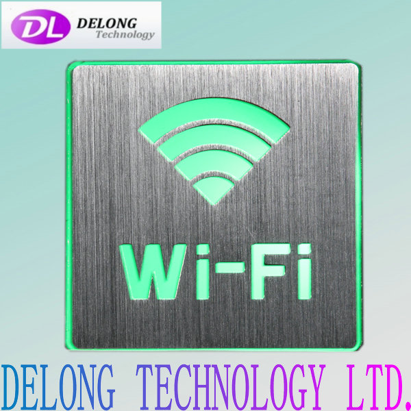 110X110X30mm led wifi logo