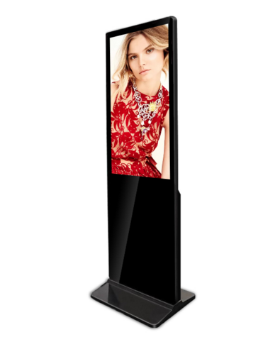 32 inch ultra-thin floor standing advertising touch screen digital signage kiosk